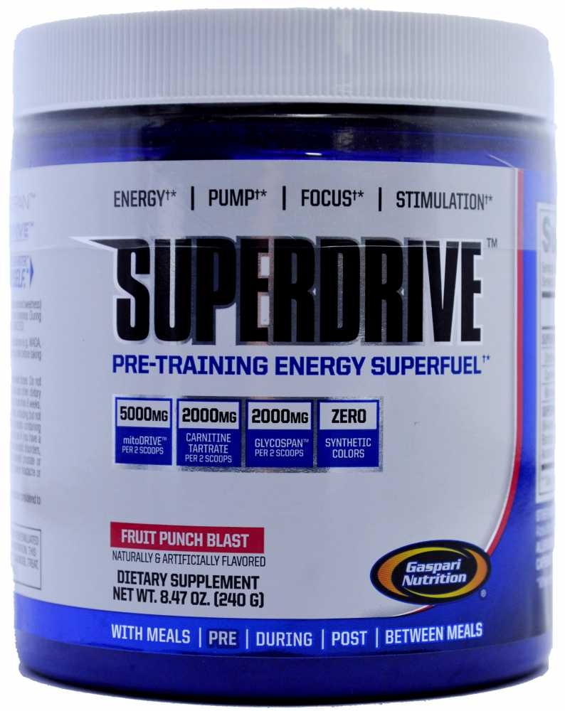 Gaspari Nutrition Superdrive