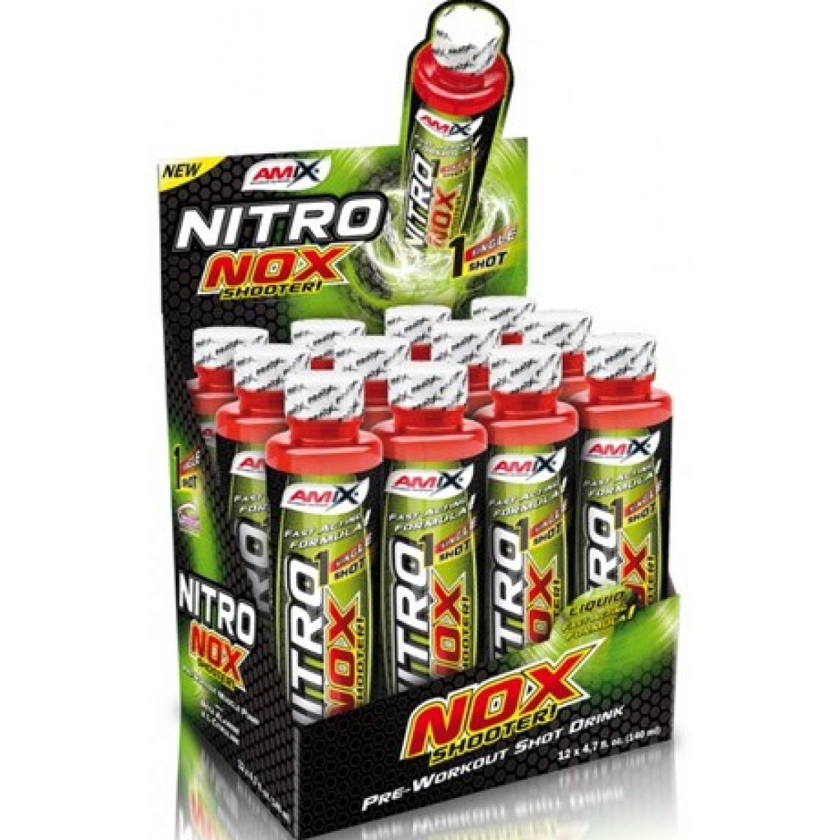 AMIX Nitronox Shooter 140 мл  12 ампули